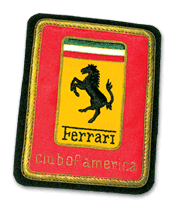 Historical FCA prototype logo patch
